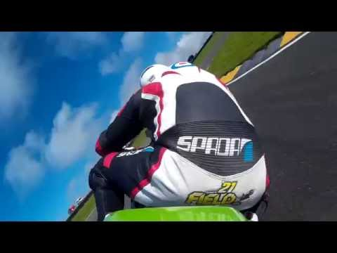 Anglesey - Onboard Race 2 600 Elite, ThundersportGB Round 7 2016