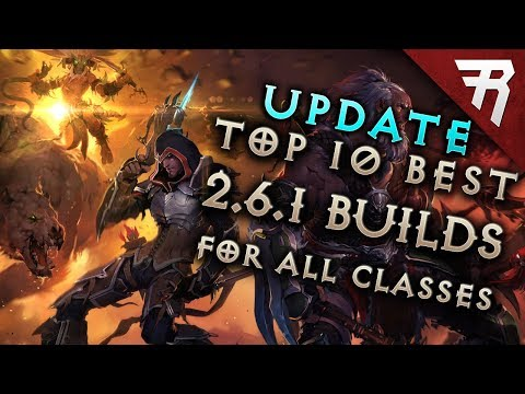 UPDATE: Diablo 3 2.6.1 Best Builds (All Classes) - Season 12 Tier List