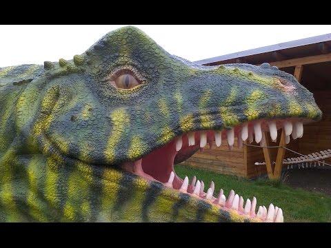 【動く恐竜】ジュラシック・パーク  世界 恐竜  プレデターズ  子供のための. Výstava dinosaurů DinoPark