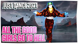 Just Dance 2021: All the good girls go to hell  - Gameplay ( PlayStation Camera ) MEGASTAR