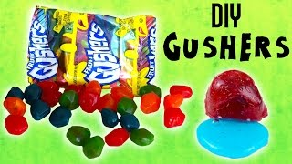 NEW SERIES! DIY it! - Gushers // DIY liquid slime filled candy // How to make homemade Gushers