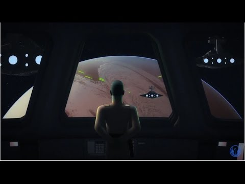 Thrawn Orders An Orbital Bombardment On Chopper Base - Star Wars Rebels Zero Hour