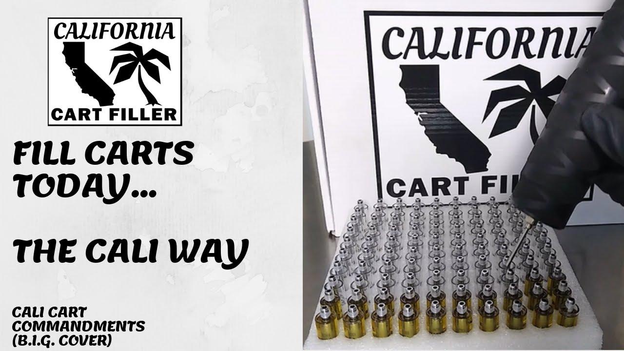 California Cart Filler (50ML) - FILL CARTS TODAY - THE CALI