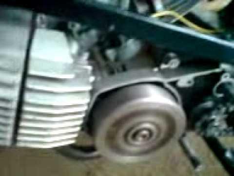 CTX 90 Bubu steluje masinu