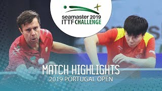 Vladimir Samsonov vs Xu Yingbin | 2019 ITTF Challenge Plus Portugal Open Highlights (1/4)