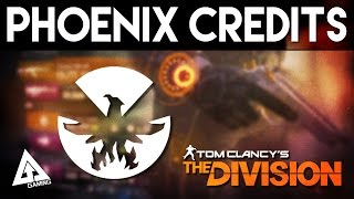 The Division How to Get Phoenix Credits & What Are They?
