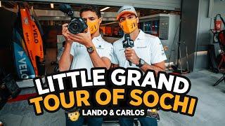 The Carlos Sainz and Lando Norris Show