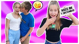 """EXTREME """"You Have 7 seconds to ______"""" CHALLENGE w/ My CRUSH *I kissed her* ⏰❤️