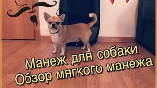 ОБЗОР | Манеж для собаки | Путешествие с собакой
