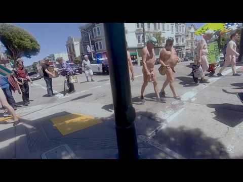 "Naked ""Body Freedom"" Protest in San francisco, 裸禁止令反対の集会 from YouTube · Duration:  1 minutes 16 seconds"