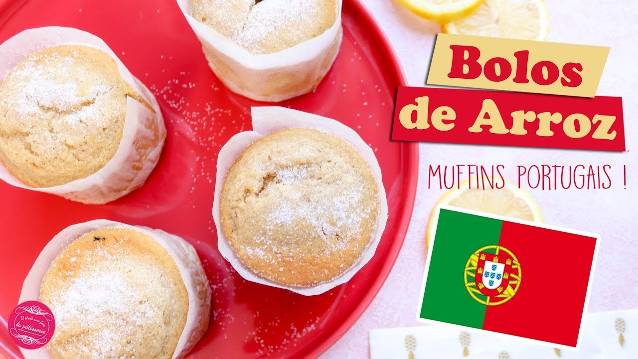 BOLOS DE ARROZ ~ PORTUGUESE MUFFINS WITH RICE FLOUR 🍚