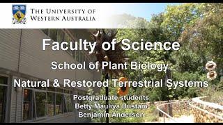 Meet Betty and Benjamin, save endangered Aussie plant species