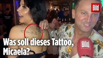 Micaela Schäfer hat ein neues Tattoo – und das ist ungünstig zweideutig