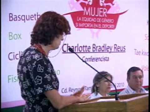 Dicta conferencia Charlotte Bradley