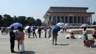 Beijing, China - Tiananmen Square, Forbidden City, Monument to the Heroes, Forbidden City