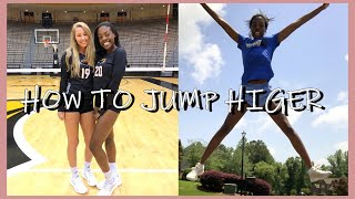 EASY WAYS TO JUMP HIGHER: how to increase your vertical for volleyball at home