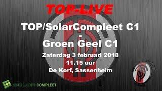 TOP/SolarCompleet C1 - Groen Geel C1, zaterdag 3 februari 2018