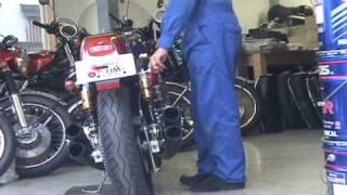 Sound of Rickman HONDA CR750 Custom