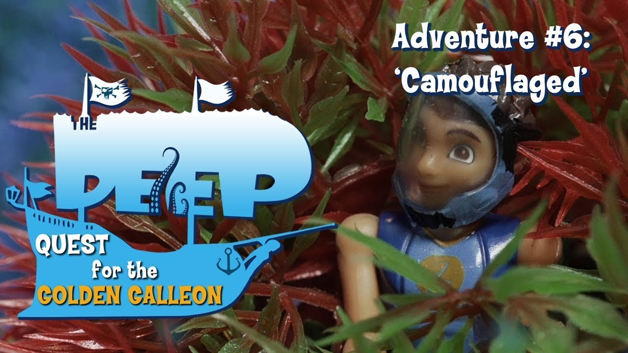 The Deep | Toy Play Adventure: Camouflaged | Adventure 619 | Cartoons for kids | WildBrain Cartoons