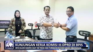 Komisi III DPRD Kota Sukabumi Kunjungi BPJS Kesehatan | Official Warta Sukabumi