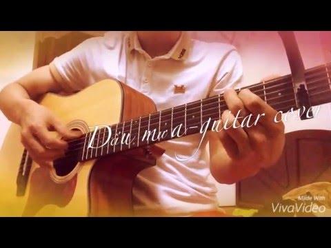 Dấu mưa ( Trung Quân) - guitar solo - Sơn Dương