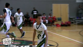 "Cam Amboree goes into ""Steph Curry"" Mode in Championship Game! 