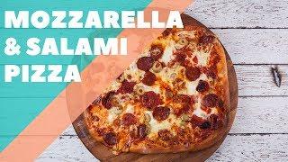 Mozzarella and Salami Pizza | Good Chef Bad Chef S10 E63