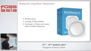 Building a Better Thermostat - Matthew Treinish - FOSSASIA Summit 2017