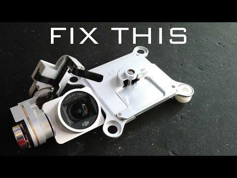 How to Repair a Broken DJI Phantom 3 Pro or Adv Camera and Gimbal
