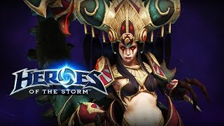 ♥ Heroes of the Storm (Gameplay) - Zagara, Best Maws NA (HoTs Quick Match)