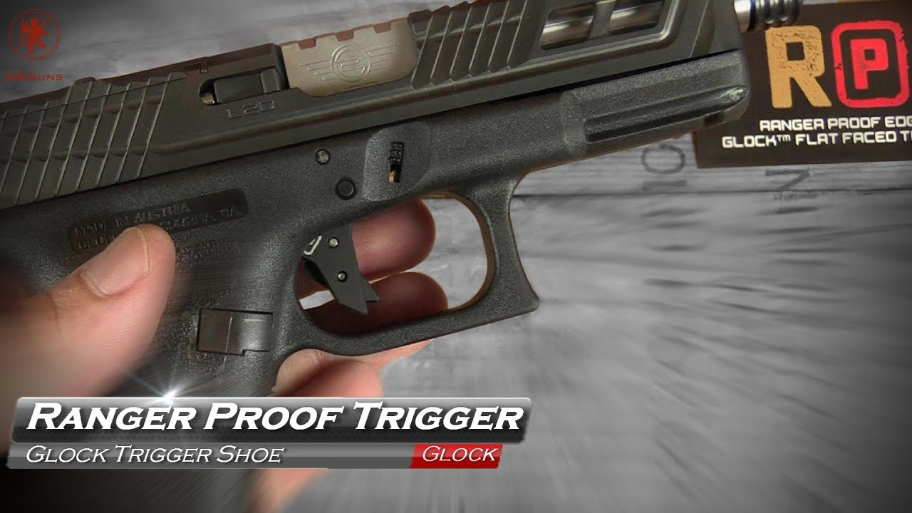 Repeat Ranger Proof Glock Trigger Shoe by Graham Baates