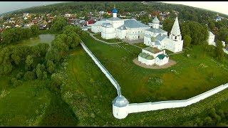 Полёт над городом Переславль-Залесский с гоночного квадрокоптера