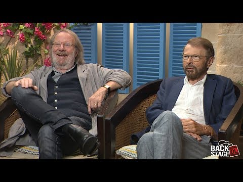 ABBA Interview: Backstage with Benny...
