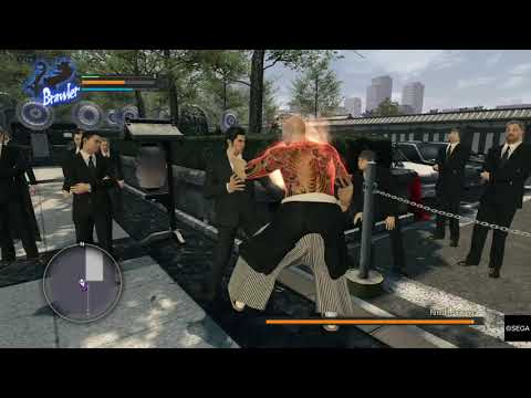 Bruh! I just started this game - YAKUZA KIWAMI (Hard) |