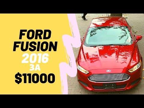 Американский FORD FUSION 2016 за $11000