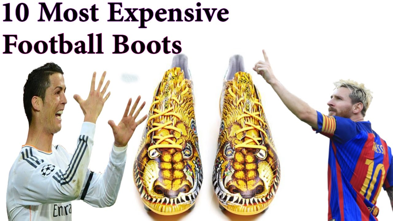 Top 10 Most Expensive Football / Soccer Shoes In The World ...