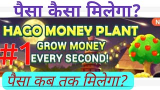 HAGO Money Plant se paise kaise kmaein PAYTM Cash | Earn money from HAGO Money Plant.