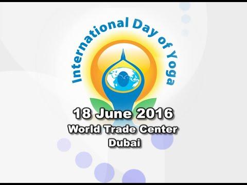 World Trade Center - Dubai: Swami Ramdev   International Yoga Day   19 June 2016 (Part 1)