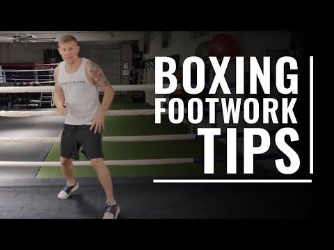 Boxing Footwork tips  Tony Jeffries