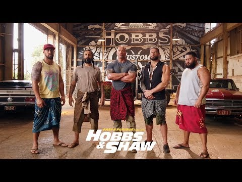Fast & Furious Presents: Hobbs & Shaw – Meet The Brothers