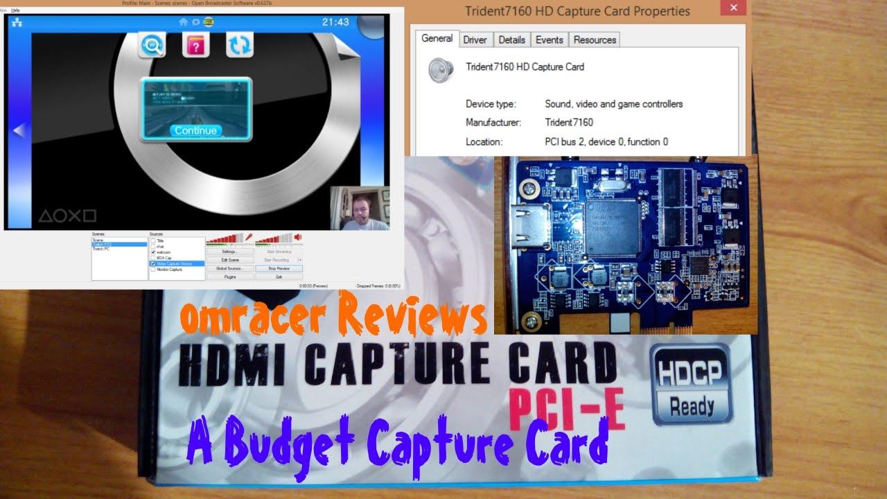 Pcie HDMI 720p//1080i video capture card grabber Timeleak HD72A