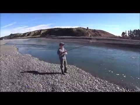 Kahawai Fishing Hurunui River