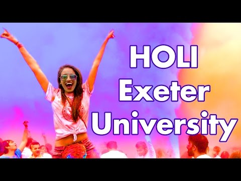 Holi Festival of Colours - Exeter University - Asian Society's
