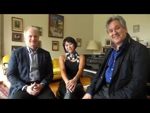 Yuja Wang, Gianandrea Noseda & Antonio Pappano about Villa Senar and Sergei Rachmaninoff