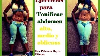 Entrenamiento 164, Ejercicios para abdomen alto, medio y oblicuos