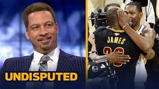 Chris Broussard reacts to Durant and LeBron hanging out together in Hollywood   NBA   UNDISPUTED
