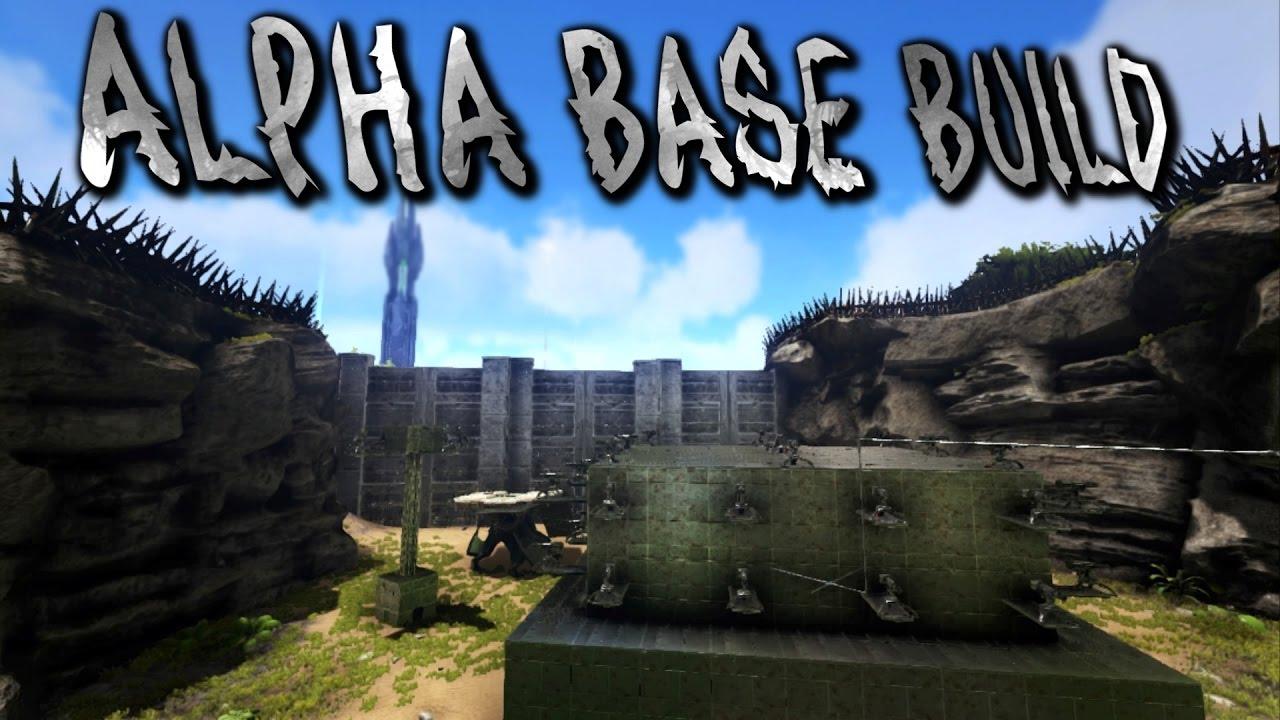 Alpha Base Build Guide!   ARK: SURVIVAL EVOLVED [PS4]