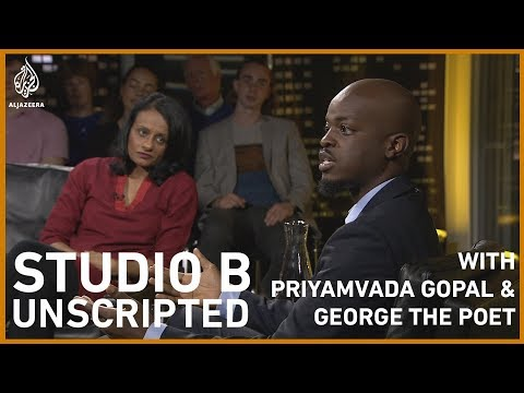 Priyamvada Gopal & George The Poet On Colonialism, Empire And Rap   Studio B: Unscripted