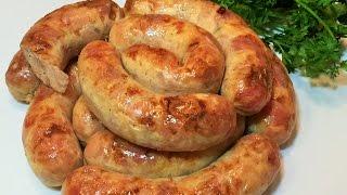 ДОМАШНЯЯ КОЛБАСА КУРИНАЯ.  Самый вкусный рецепт.   Chicken sausage homemade