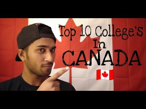 Top 10 Colleges in Canada 2018